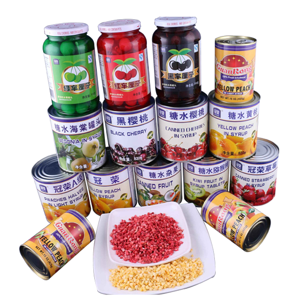冠荣水果罐头-腾龙食品